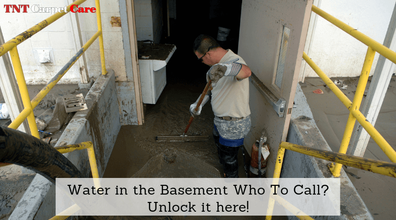 Water in the Basement Who To Call? Unlock it here!