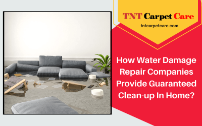 How Water Damage Repair Companies Provide Guaranteed Clean-up In Home?